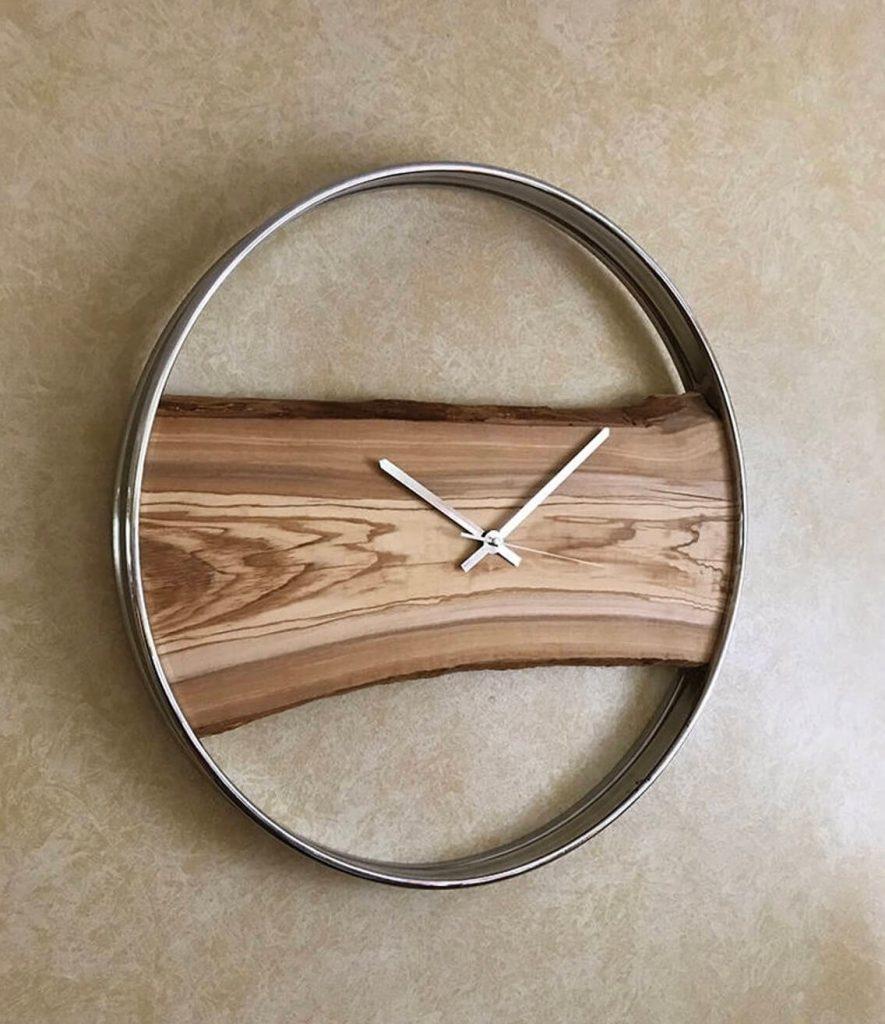Часы из эпоксидки