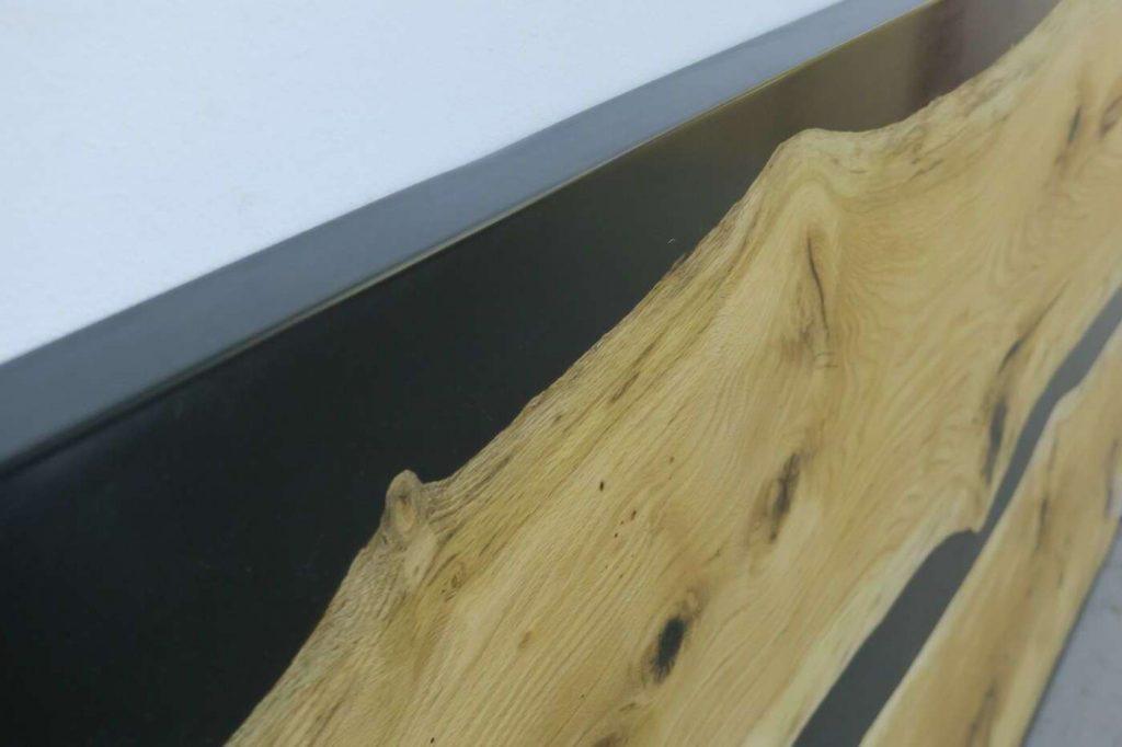 Креативная столешница из дерева и эпоксидки