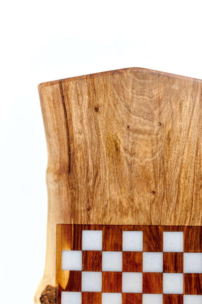 Журнальный стол из эпоксидки с эксклюзивным узором